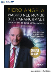 Angela Piero - VIAGGIO NEL MONDO DEL PARANORMALE - CICAP
