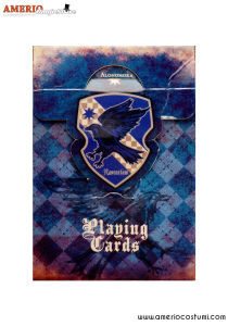 HP - Ravenclaw Playing cards