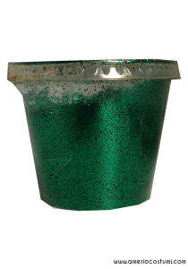 Glitter per decorazione - 100 gr - Green
