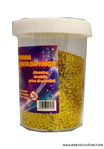 Glitter per decorazione - 100 gr - Oro