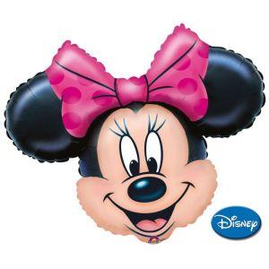 "Minnie - Pallone Foil Faccia XL SuperShapes - 32"""