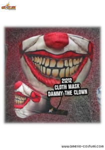 CLOTH MASK - DAMMY THE CLOWN