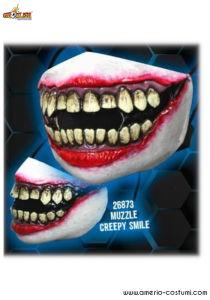 PROTECTIVE MASK - CREEPY SMILE