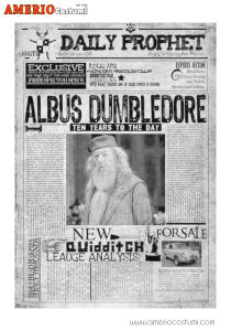 Mini poster - Albus