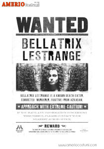 Mini poster - Bellatrix