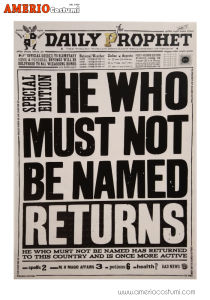 Mini poster - He Who