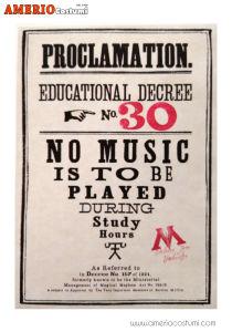 Mini poster - Proclamation 30