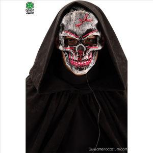 Maschera Teschio con luci