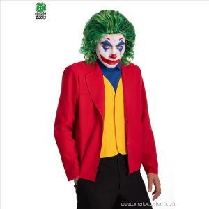 Parrucca Joker Crazy Clown
