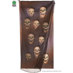 Tenda Horror per finestra 160x75 Skulls