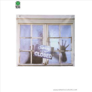 Tenda Horror per finestra 75x90 Ghost